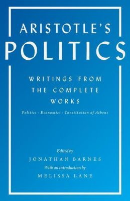 Aristotle's Politics, Aristoteles
