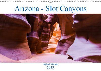Arizona - Slot Canyons (Wandkalender 2019 DIN A3 quer), Michael Altmaier
