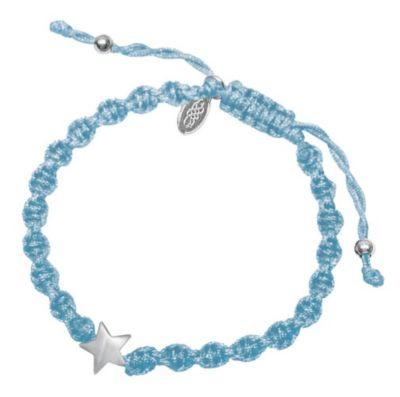 Armband - Glücksstern für dich (hellblau)
