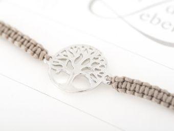 Armband mit Element - Baum des Lebens, Crystals