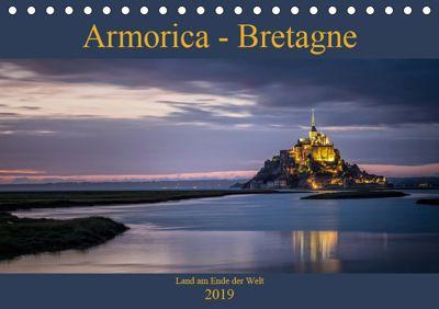 Armorica - Bretagne, Land am Ende der Welt (Tischkalender 2019 DIN A5 quer), Thomas Zilch
