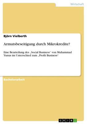 Armutsbeseitigung durch Mikrokredite?, Björn Vielberth