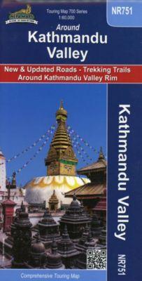 Around Kathmandu Valley 1 : 60 000