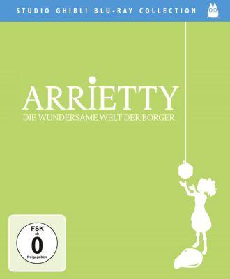 Arrietty - Die wundersame Welt der Borger, Mary Norton, Hayao Miyazaki, Keiko Niwa