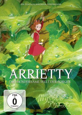 Arrietty - Die wundersame Welt der Borger, Mary Norton
