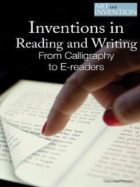 Art and Invention: Inventions in Reading and Writing, Cory MacPherson