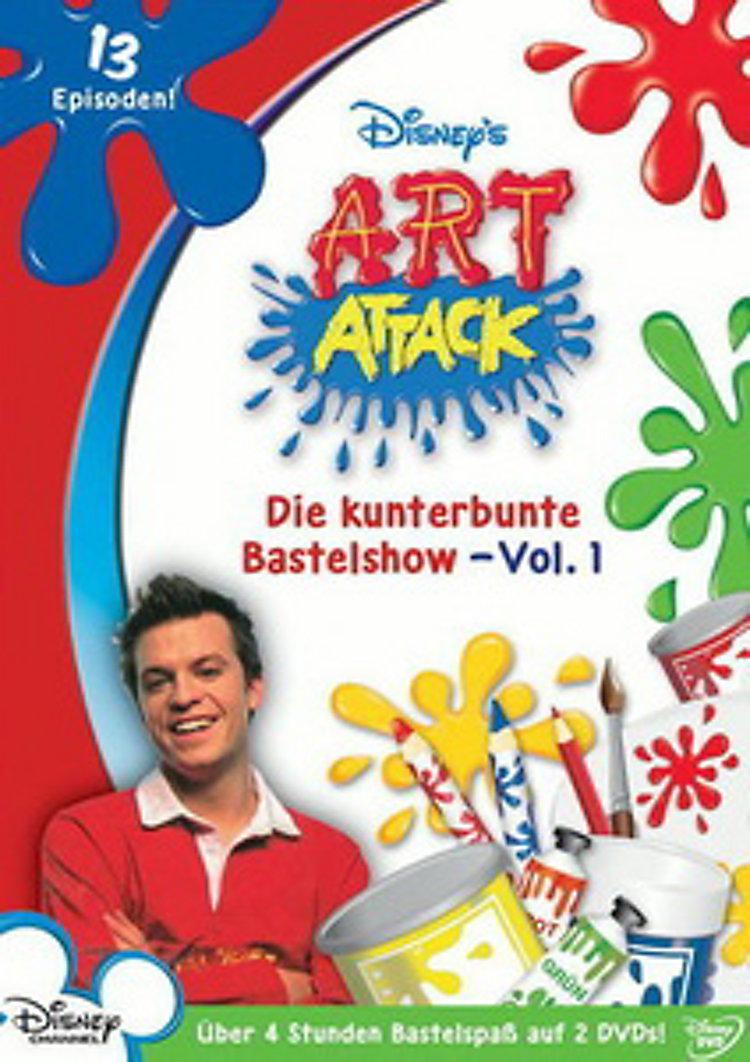 Art Attack Die Kunterbunte Bastelshow Vol 1 Malen Und