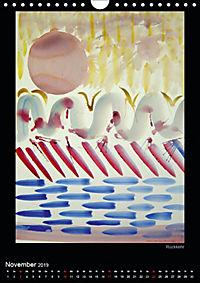 Art by Eveline ChristinaCH-Version (Wandkalender 2019 DIN A4 hoch) - Produktdetailbild 11