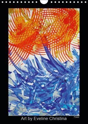 Art by Eveline ChristinaCH-Version (Wandkalender 2019 DIN A4 hoch), Eveline Christina Egli