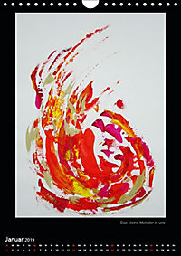 Art by Eveline ChristinaCH-Version (Wandkalender 2019 DIN A4 hoch) - Produktdetailbild 1