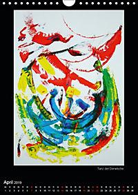 Art by Eveline ChristinaCH-Version (Wandkalender 2019 DIN A4 hoch) - Produktdetailbild 4