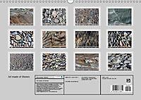 Art made of Stones (Wall Calendar 2019 DIN A3 Landscape) - Produktdetailbild 13