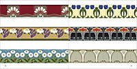 Art Nouveau Tile Designs, m. CD-ROM - Produktdetailbild 7