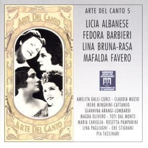 Arte Del Canto 5, Diverse Interpreten
