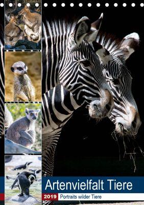 Artenvielfalt Tiere (Tischkalender 2019 DIN A5 hoch), Karin Sigwarth