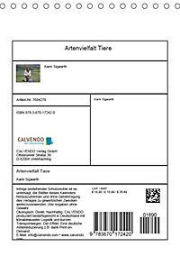 Artenvielfalt Tiere (Tischkalender 2019 DIN A5 hoch) - Produktdetailbild 13