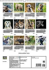 Artenvielfalt Tiere (Wandkalender 2019 DIN A3 hoch) - Produktdetailbild 13