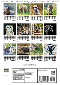 Artenvielfalt Tiere (Wandkalender 2019 DIN A4 hoch) - Produktdetailbild 13