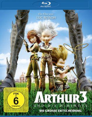 Arthur und die Minimoys 3 - Die große Entscheidung, Luc Besson, Céline Garcia