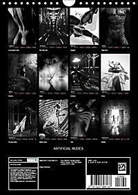 ARTIFICIAL NUDES (Wall Calendar 2019 DIN A4 Portrait) - Produktdetailbild 13