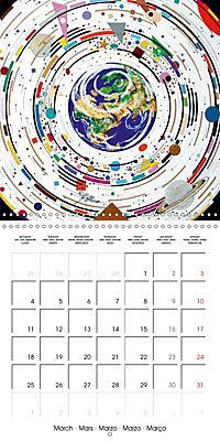 ARTIST RALF HASSE MODERN ART (Wall Calendar 2019 300 × 300 mm Square) - Produktdetailbild 3