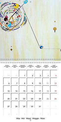 ARTIST RALF HASSE MODERN ART (Wall Calendar 2019 300 × 300 mm Square) - Produktdetailbild 5