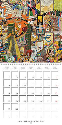 ARTIST RALF HASSE MODERN ART (Wall Calendar 2019 300 × 300 mm Square) - Produktdetailbild 4