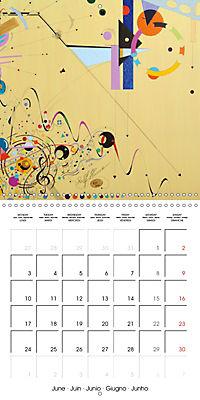 ARTIST RALF HASSE MODERN ART (Wall Calendar 2019 300 × 300 mm Square) - Produktdetailbild 6