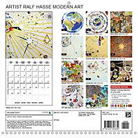 ARTIST RALF HASSE MODERN ART (Wall Calendar 2019 300 × 300 mm Square) - Produktdetailbild 13