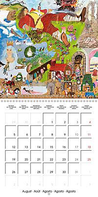ARTIST RALF HASSE MODERN ART (Wall Calendar 2019 300 × 300 mm Square) - Produktdetailbild 8