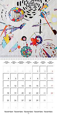 ARTIST RALF HASSE MODERN ART (Wall Calendar 2019 300 × 300 mm Square) - Produktdetailbild 11
