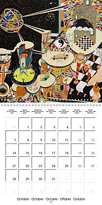 ARTIST RALF HASSE MODERN ART (Wall Calendar 2019 300 × 300 mm Square) - Produktdetailbild 10