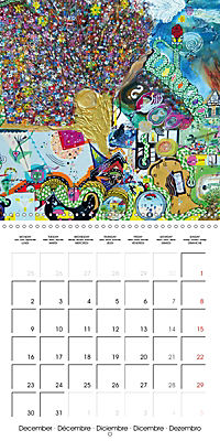 ARTIST RALF HASSE MODERN ART (Wall Calendar 2019 300 × 300 mm Square) - Produktdetailbild 12