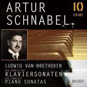 Artur Schnabel - Beethoven, 10 CDs, Ludwig van Beethoven