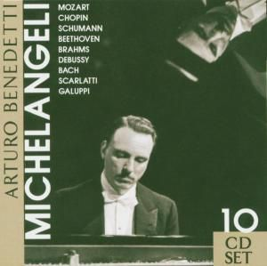 Arturo Benedetti Michelangeli, 10 CDs, Arturo Benedetti Michelangeli