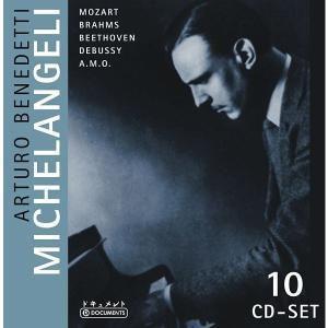 Arturo Benedetti Michelangeli, 10 CDs, Diverse Interpreten