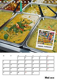 ASIA STREET FOOD - Der Küchenplaner (Tischkalender 2019 DIN A5 hoch) - Produktdetailbild 5