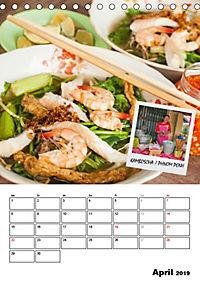 ASIA STREET FOOD - Der Küchenplaner (Tischkalender 2019 DIN A5 hoch) - Produktdetailbild 4