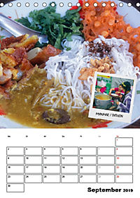 ASIA STREET FOOD - Der Küchenplaner (Tischkalender 2019 DIN A5 hoch) - Produktdetailbild 9