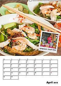 ASIA STREET FOOD - Der Küchenplaner (Wandkalender 2019 DIN A2 hoch) - Produktdetailbild 4