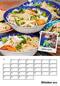 ASIA STREET FOOD - Der Küchenplaner (Wandkalender 2019 DIN A3 hoch) - Produktdetailbild 10
