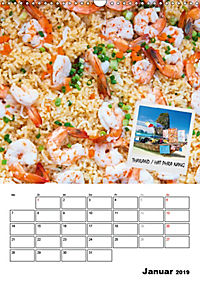 ASIA STREET FOOD - Der Küchenplaner (Wandkalender 2019 DIN A3 hoch) - Produktdetailbild 1