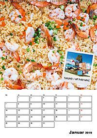 ASIA STREET FOOD - Der Küchenplaner (Wandkalender 2019 DIN A2 hoch) - Produktdetailbild 1