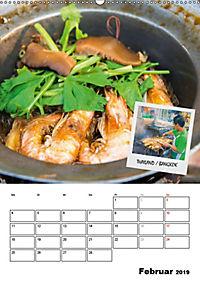 ASIA STREET FOOD - Der Küchenplaner (Wandkalender 2019 DIN A2 hoch) - Produktdetailbild 2