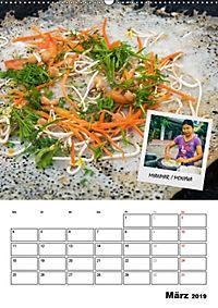 ASIA STREET FOOD - Der Küchenplaner (Wandkalender 2019 DIN A2 hoch) - Produktdetailbild 3