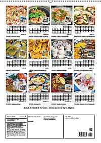ASIA STREET FOOD - Der Küchenplaner (Wandkalender 2019 DIN A2 hoch) - Produktdetailbild 13