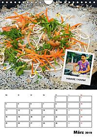 ASIA STREET FOOD - Der Küchenplaner (Wandkalender 2019 DIN A4 hoch) - Produktdetailbild 3
