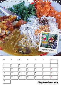 ASIA STREET FOOD - Der Küchenplaner (Wandkalender 2019 DIN A4 hoch) - Produktdetailbild 9