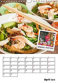ASIA STREET FOOD - Der Küchenplaner (Wandkalender 2019 DIN A4 hoch) - Produktdetailbild 4