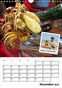 ASIA STREET FOOD - Der Küchenplaner (Wandkalender 2019 DIN A4 hoch) - Produktdetailbild 11